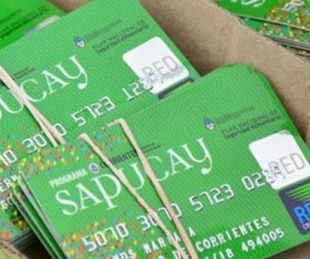 foto: Desde este martes 24 se habilitan las tarjetas Sapucay