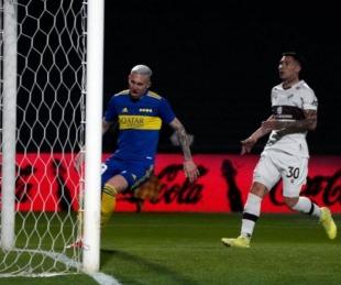 foto: Boca le ganó a Platense en la Liga Profesional de Fútbol