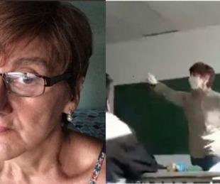 foto: Qué dijo el Gobierno de la docente acusada de adoctrinamiento