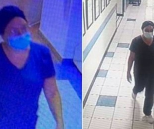 foto: Se disfrazó de enfermera y se robó un bebé recién nacido del hospital