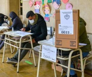 foto: Disponen horario especial para que contagiados de COVID-19 puedan votar