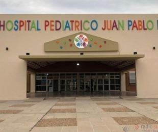 foto: Hay dos pacientes internados con COVID-19 en el Hospital Pediátrico