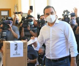 foto: Votó Gustavo Valdés: