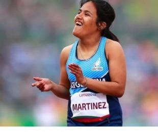 foto: Paralímpicos: Yanina Martínez consiguió una medalla de bronce
