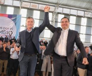 foto: Mauricio Macri felicito a Gustavo por su reelección en Corrientes