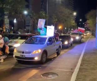 foto: Caravana y fiesta tras el aplastante triunfo de Gustavo Valdés