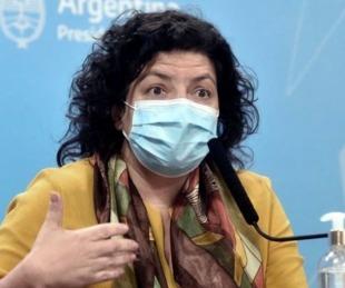 foto: Vizzotti habló de la posibilidad de la aplicación de una tercera dosis