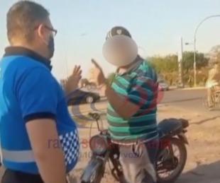 foto: Video: violenta discusión con un hombre que manejaba borracho