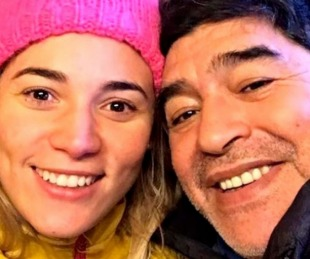 foto: Se postergó la declaración testimonial de Rocío Oliva en la causa Maradona