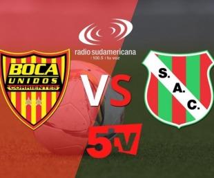 foto: Boca Unidos visita a Sportivo y lo vivís por Sudamericana y Canal 5Tv