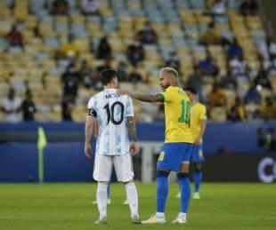foto: Brasil recibe a Argentina: horario, TV y formaciones del partido
