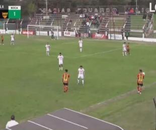 foto: Boca Unidos empató 1 a 1 con Sportivo Las Parejas en Santa Fe