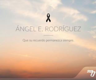 foto: El mensaje de la Cuenca del Plata tras la muerte de Ángel Rodríguez