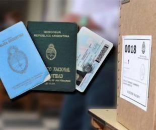 foto: Elecciones: ¿Con qué documento puedo votar en las PASO?