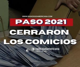 foto: PASO 2021: cerraron los comicios con la participación de más del 67% del padrón