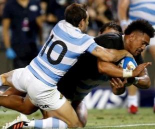 foto: Rugby Championship: dura derrota de Los Pumas frente a los All Blacks