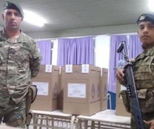 foto: Argentina desplegará casi 100 mil efectivos militares para las PASO