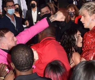 foto: Conor McGregor agredió al novio de Megan Fox en la alfombra roja