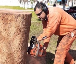 foto: Comisaria 2ª de Goya tendrá a San Martín tallado en madera