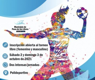 foto:  Libres abrió las inscripciones para el Torneo Integración de Handball