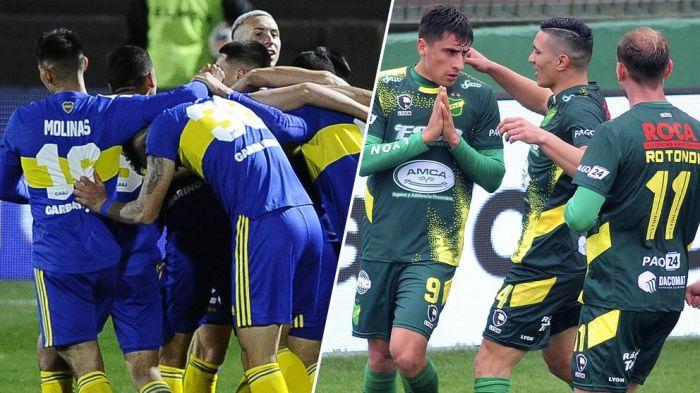 Boca Juniors recibirá a Defensa y Justicia: hora, TV y formaciones