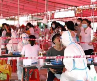 foto: China confinó una ciudad por un brote de COVID-19 entre escolares