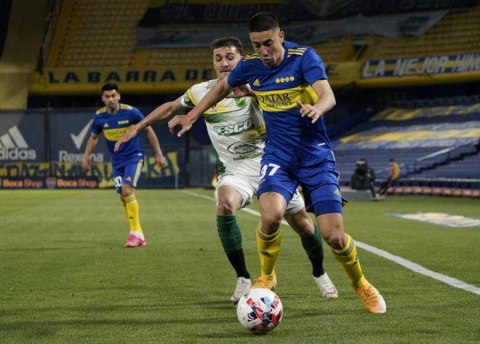Boca Juniors y Defensa y Justicia empataron sin goles