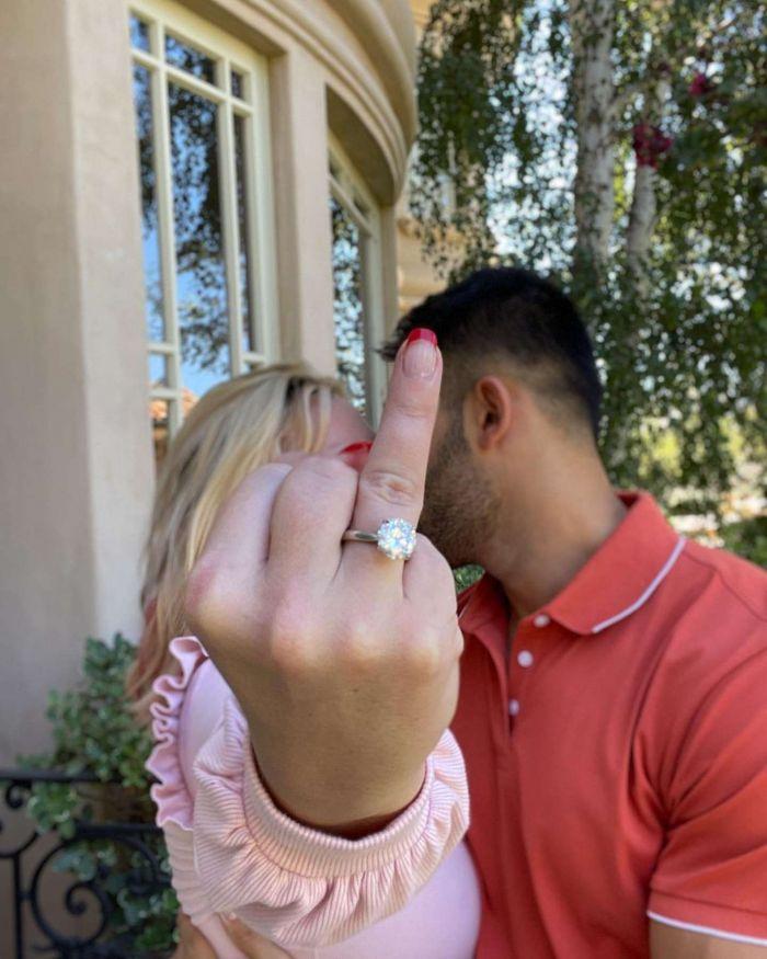 Britney Spears se casa por tercera vez: anunció su compromiso con Sam Asghari