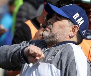 foto: Gimnasia inaugura un mural homenaje a Diego Maradona
