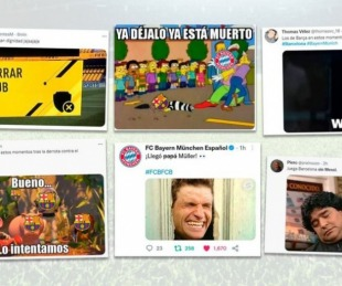 foto: Los memes de la derrota del Barcelona: la ausencia de Messi