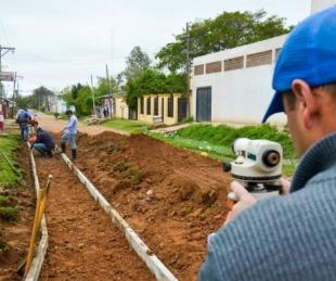 foto: La Comuna libreña avanza con nuevo cordón cuneta sobre calle Uruguay