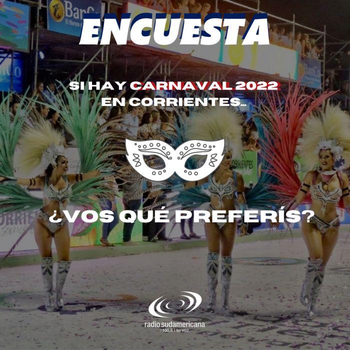 ENCUESTA: Si hay Carnaval 2022 ¿vos qué preferís? Los resultados