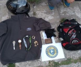 foto: Empleado de una concesionaria robaba pertenencias de los clientes