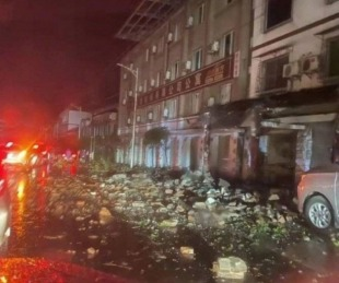 foto: China: Al menos tres muertos tras un terremoto de magnitud 6,0