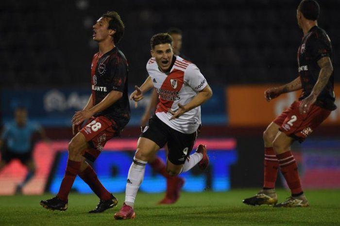 River goleó a Newell´s por la Liga Profesional de Fútbol