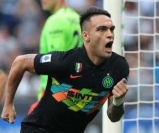 foto: Inter goleó con un gol de Lautaro Martínez pero se lesionó Correa
