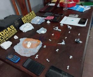 foto: Corrientes: Hallaron cocaína y otros elementos en un allanamiento