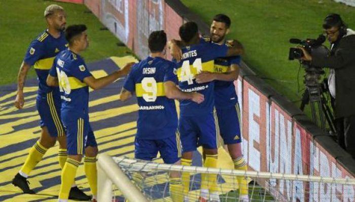 Boca venció 2-1 a Atlético Tucumán en la fecha 12 de la Liga Profesional