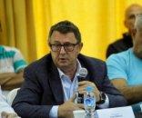 foto: Jorge Terrile sobre la dirigencia de Mandiyú