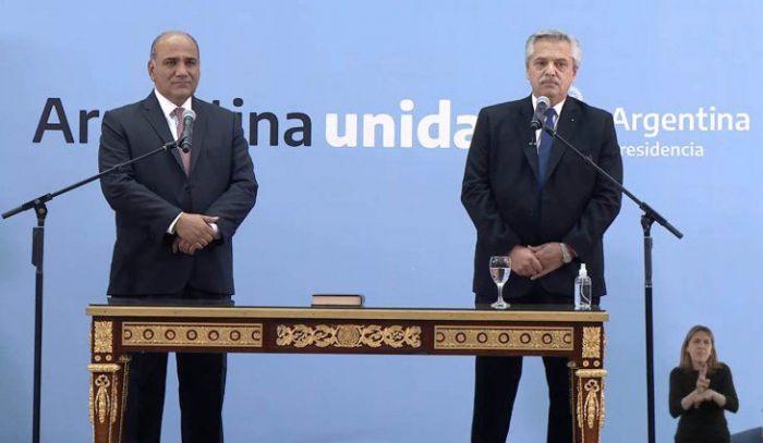 Alberto Fernández tomó juramento a los ministros en Casa Rosada