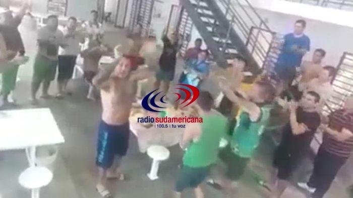De cumpleaños en el penal: el video que se viralizó en pocos minutos