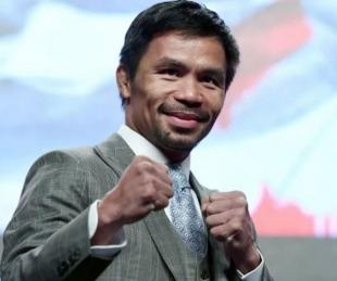 foto: Manny Pacquiao disputará la presidencia en 2022