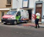 foto: Corrientes: obrero de la construcción cayó por el pozo de un ascensor y fue trasladado al hospital