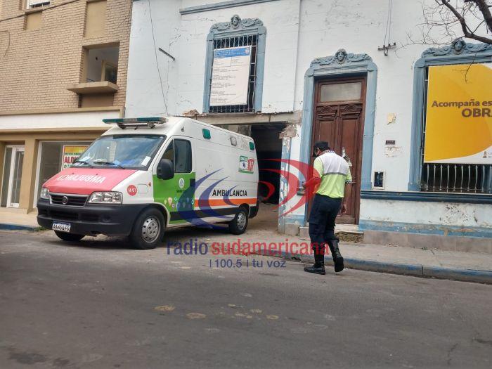 Corrientes: obrero de la construcción cayó por el pozo de un ascensor y fue trasladado al hospital