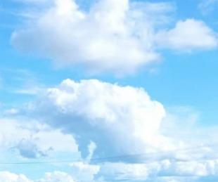 foto: Inicio de semana con nubosidad variable en Corrientes