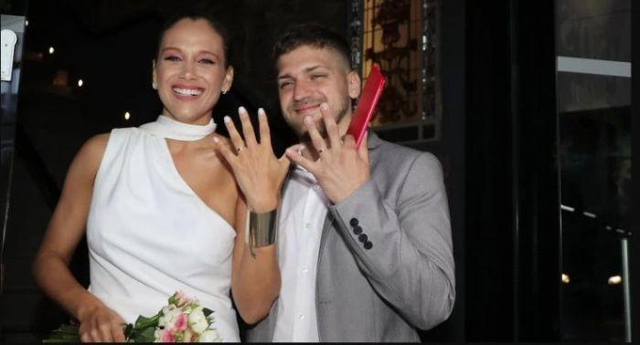 ¡Se casó Barbie Vélez! Los detalles y las fotos del Civil