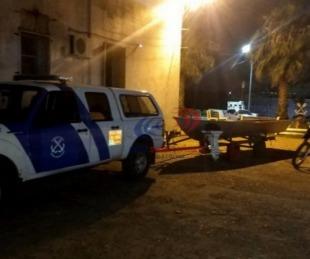 foto: Prefectura secuestró una embarcación y motocicleta