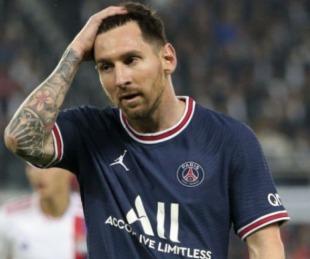 foto: PSG confirmó que Messi se lesionó y que no jugará ante Metz