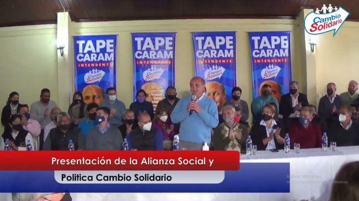 Mercedes: Diego Caram anunció su candidatura a la reelección