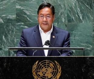 foto: El presidente de Bolivia denunció ante la ONU a Mauricio Macri